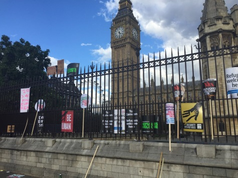 welcome refugee march ,London 12th sep 2015